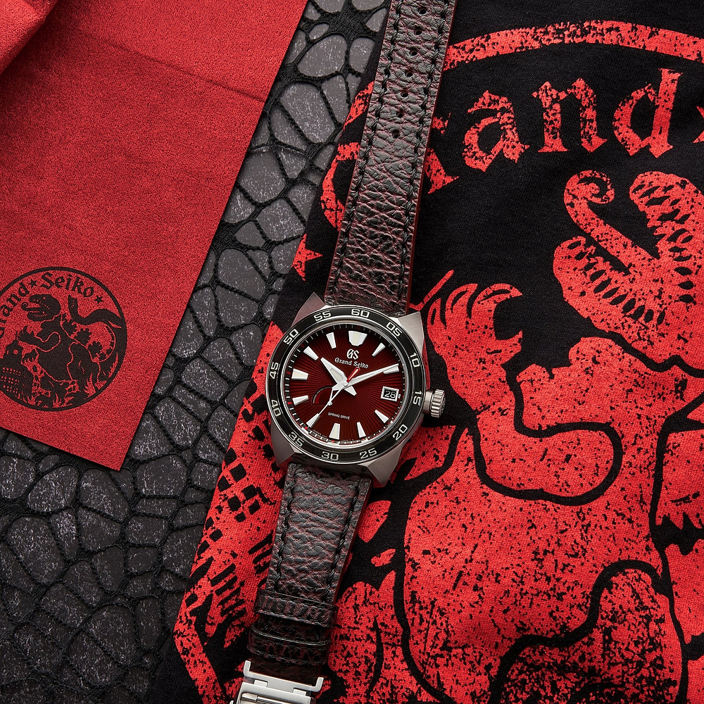 Reloj Grand Seiko edicion limitada Godzilla referencia SBGA405