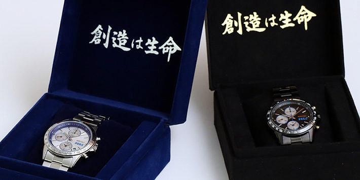 Detalle estuche reloj seiko edicion limitada SEGA 60 aniversario