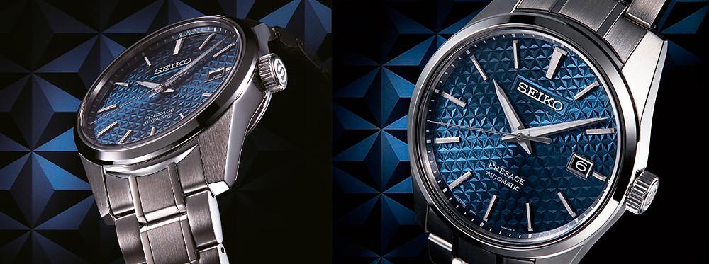 relojes Seiko Presage serie Sharp edged SPB169 y SPB167