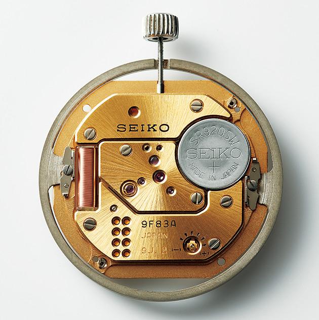 primer calibre seiko 9F de alta precision en cuarzo de 1993