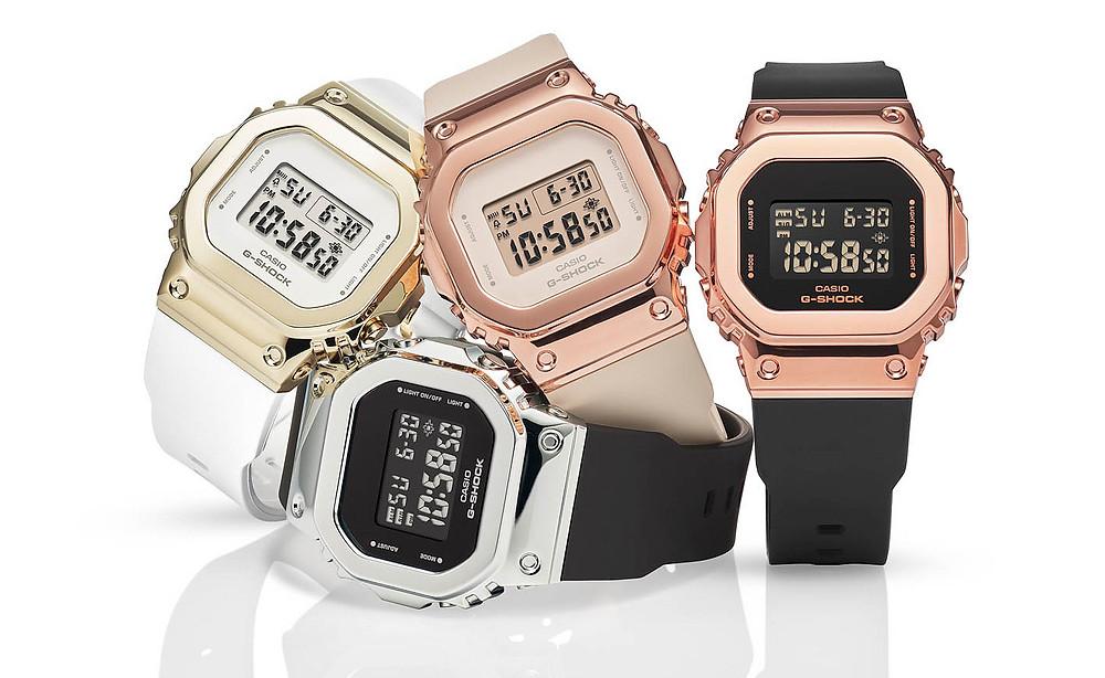 4 nuevos relojes g-shock para ellas serie gms5600