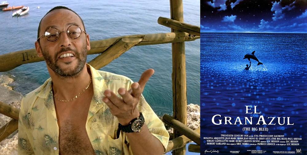 Jean Reno con reloj Citizen Aqualand 1