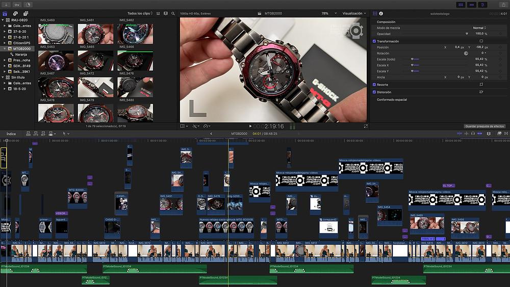 imagen-post-produccion-reportaje-video-analisis-reloj-casio-mtg-mtgb2000
