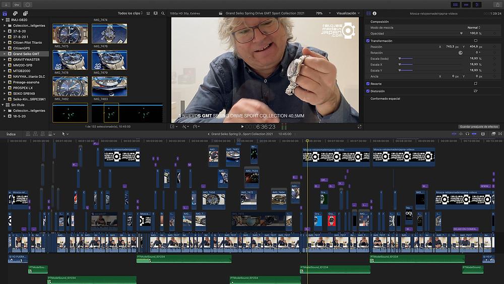 video analisis nuevos relojes grand seiko gmt spring drive 2021 40mm bisel ceramico