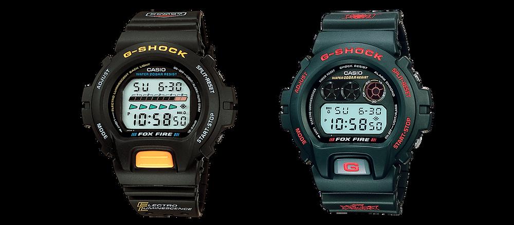 reloj Casio G-Shock DW-6900H-1 lanzado en 1995