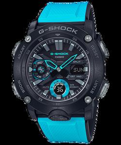 Nuevos relojes GA-2000 de Casio G-Shock con fibra de carbono