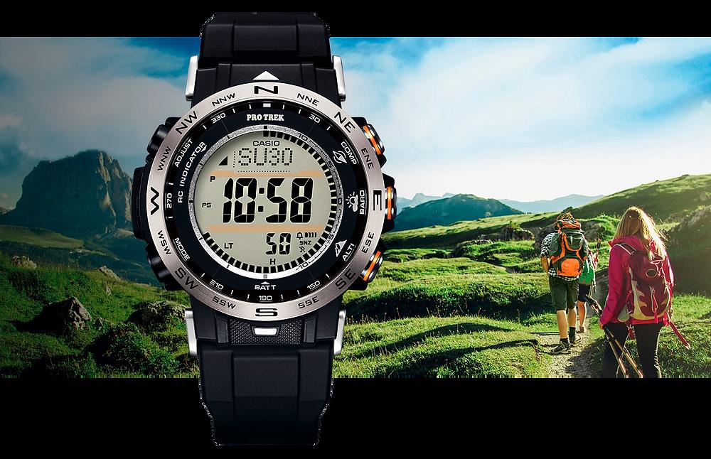 reloj casio protrek para treking novedad PRW-30-1AER