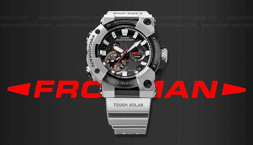 nuevo reloj Frogman edición limitada Royal Navy x G-SHOCK referencia gwf-a1000rn-8a