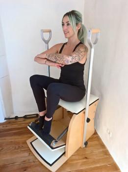 Pumping sur Wunda Chair | Studio La Pause Pilates (Le Gua, Charente Maritime 17)