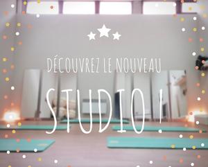 Le nouveau studio