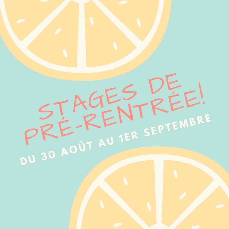Stage Pilates Toulouse prérentrée
