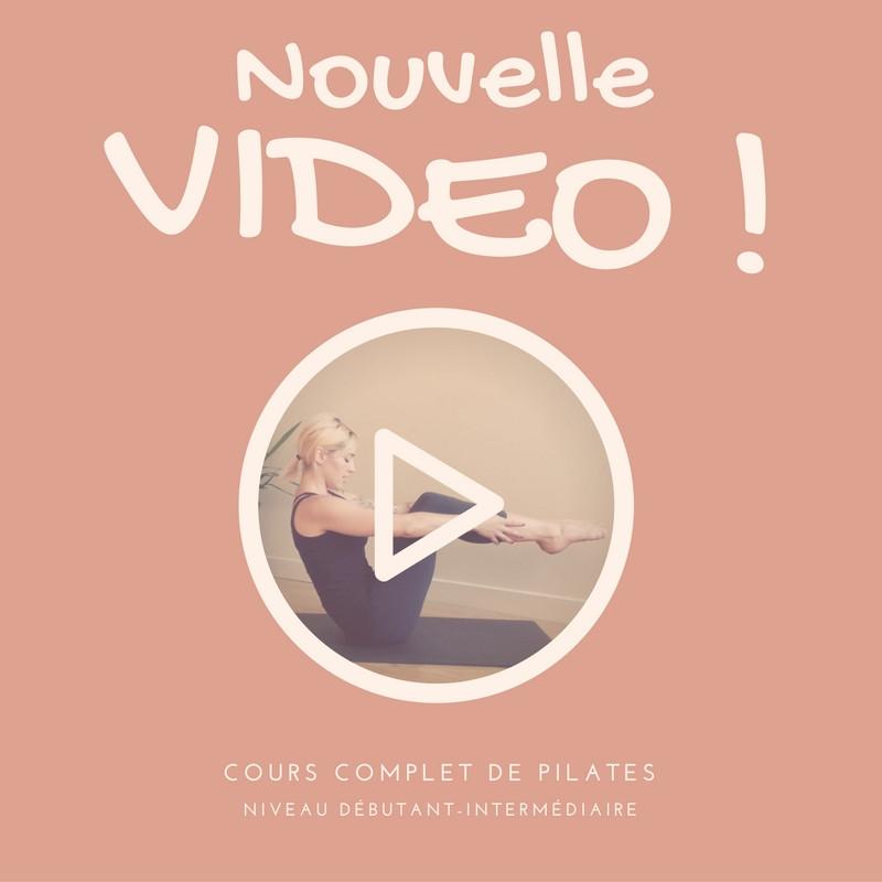 Vidéo Pilates en ligne