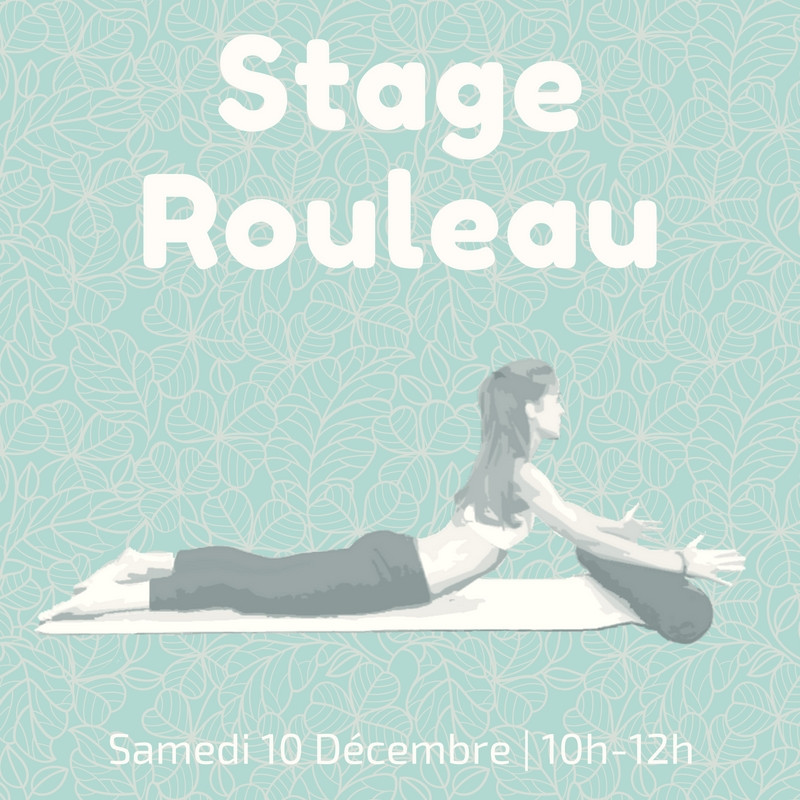 Stage rouleau pilates