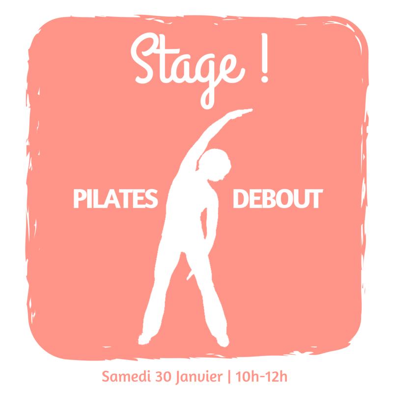 Stage de Pilates debout Toulouse - Studio La Pause Pilates