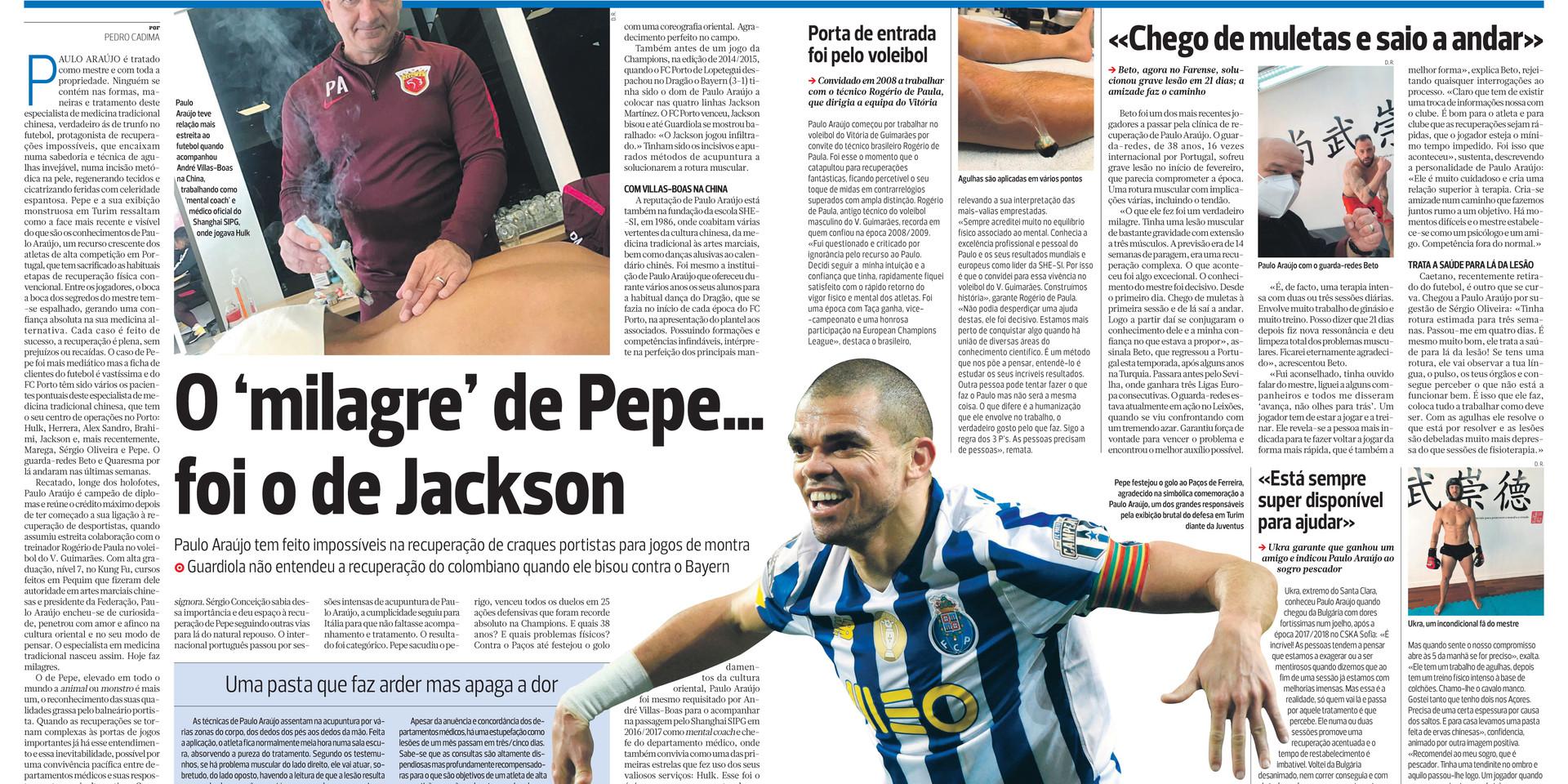Jornal A Bola Portugal 18/03/2021