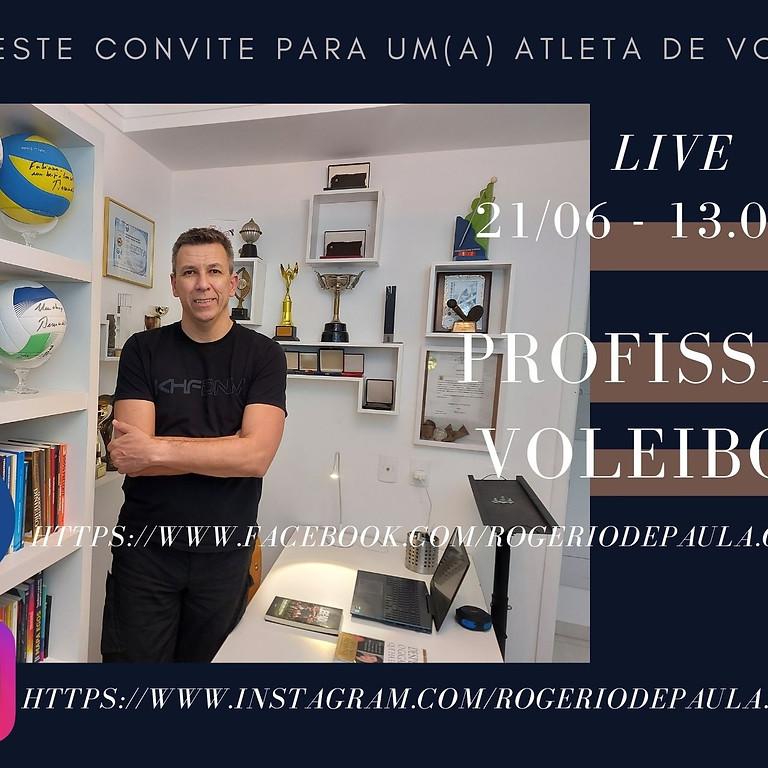 PROFISSÃO ATLETA DE VOLEIBOL