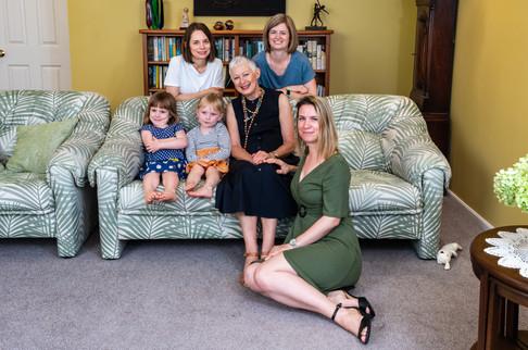 Jennie Family portrait