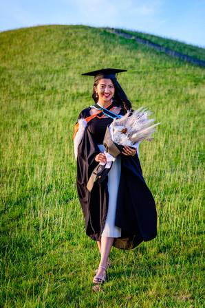 Graduation Photo of Rimli new hill