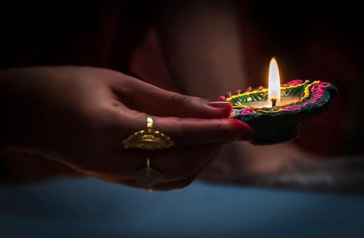 Festival diya light