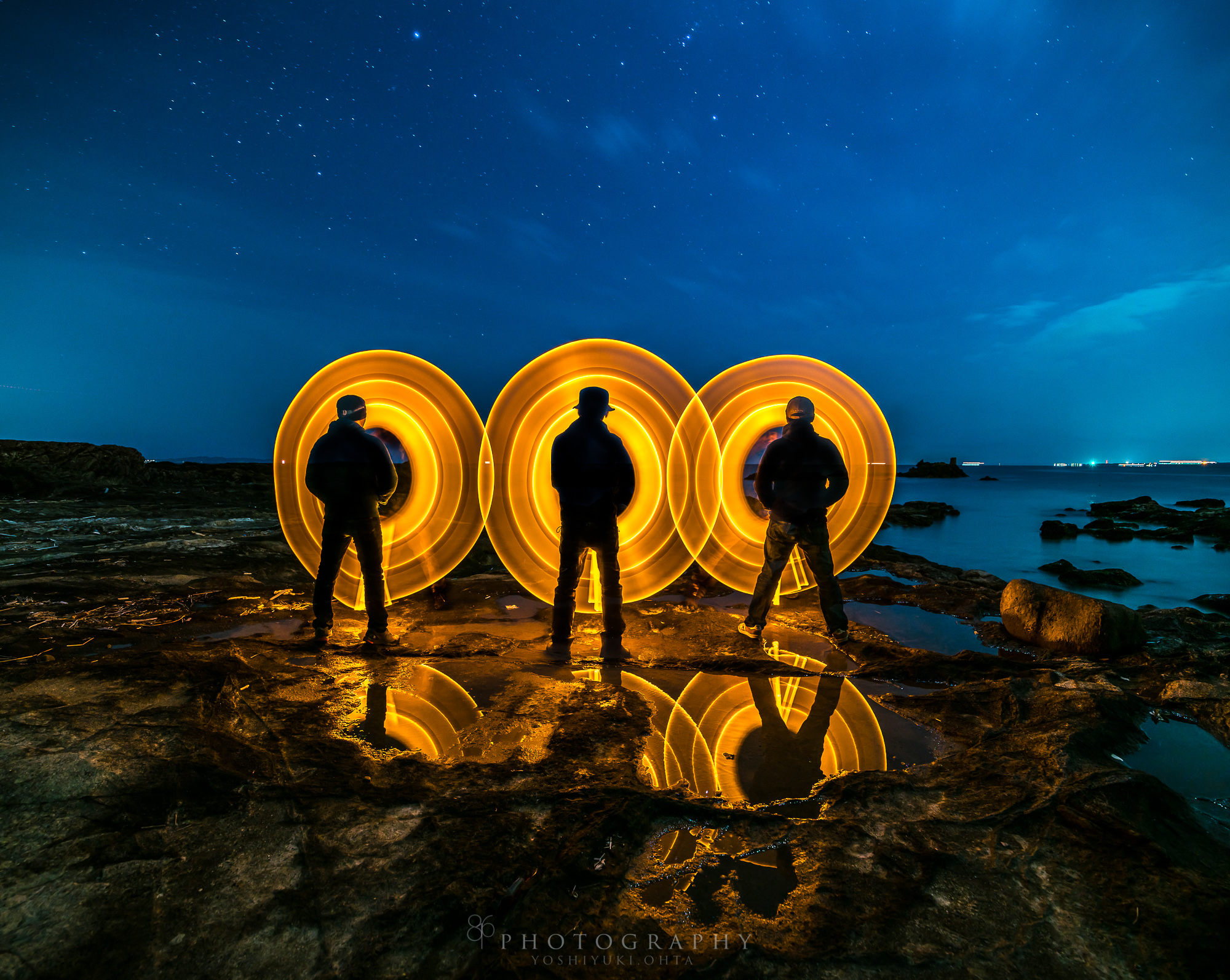 we are light painters