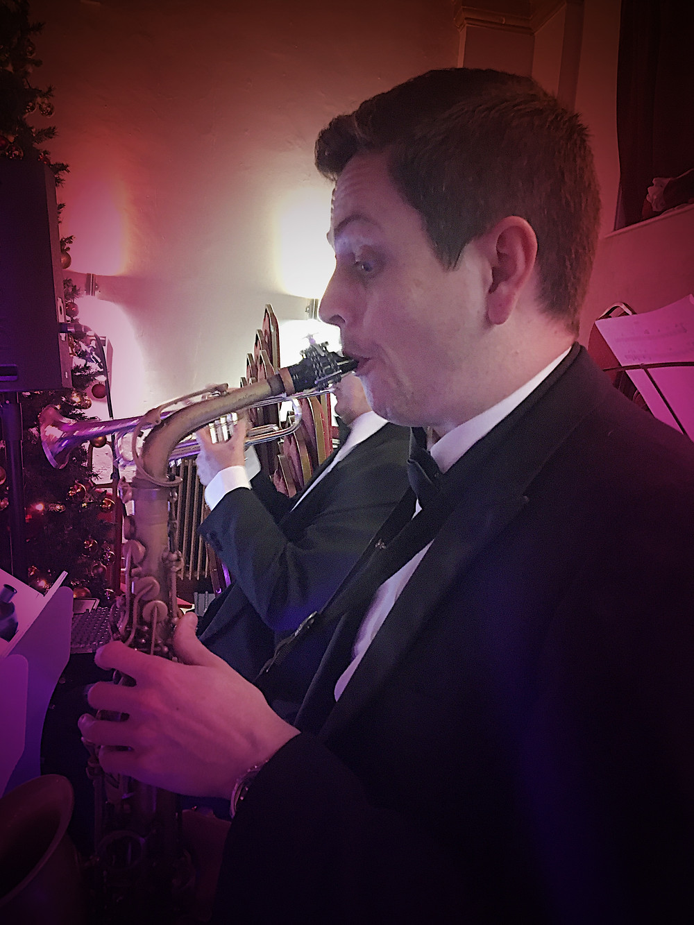 This is Paddy - sax man supremo
