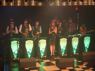 Kal's Kats - Vintage Swing Band UK - PAT'd nicely for another year
