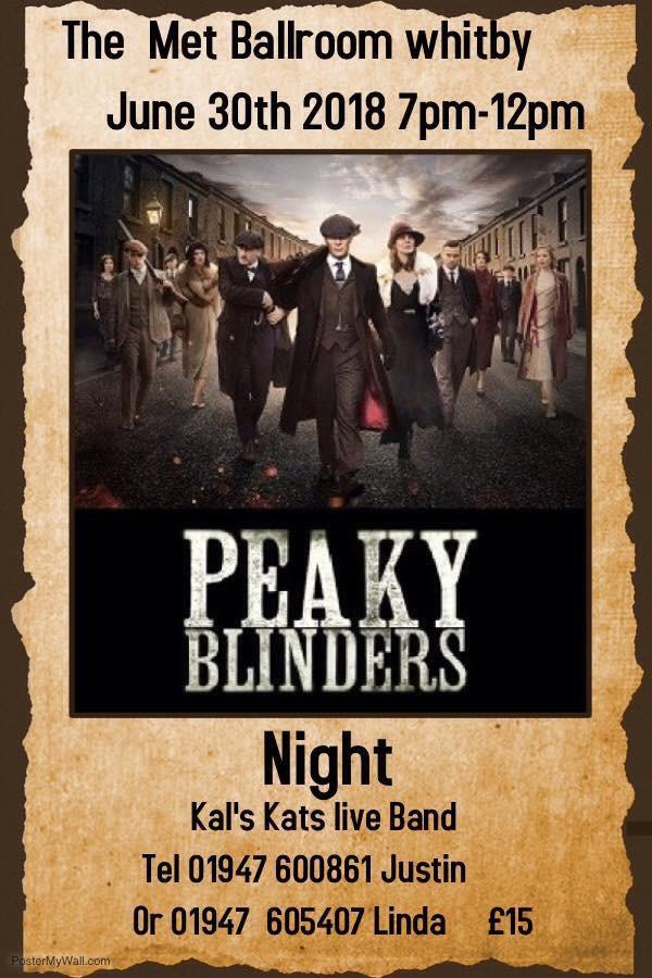 Kal's Kats - Peaky Blinder Dance Whitby