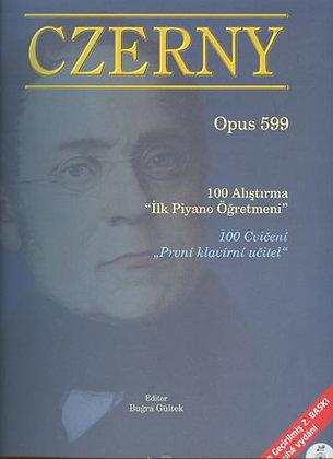 """Czerny op. 599 """"İlk Piyano Öğretmeni"""""""