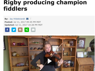 Rigby Producing Champion Fiddlers