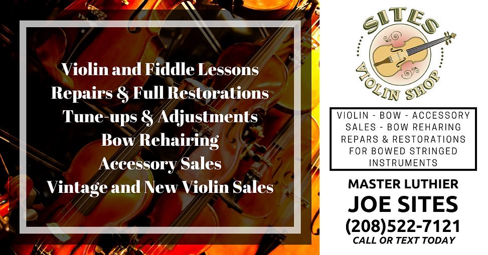 joe sites violin shop ad.png