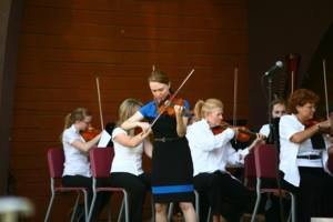 Jacie Sites Arranges Music for and Performs with the Idaho Falls Symphony