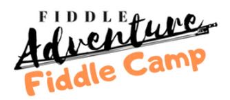 fiddle adventure fiddle camp logo white