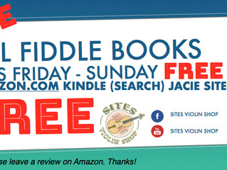 All Jacie Sites' Fiddle Books are FREE