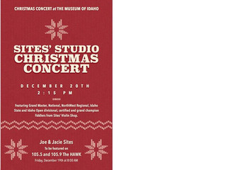 Sites Violin Shop Christmas Concert and Chrimstas Jam Session