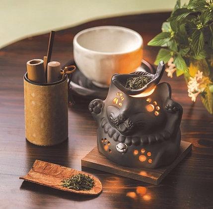 常滑燒茶香爐 - F