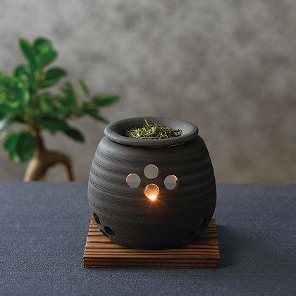 石龍黒泥大丸茶香炉