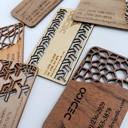 Wooden Buisness cards