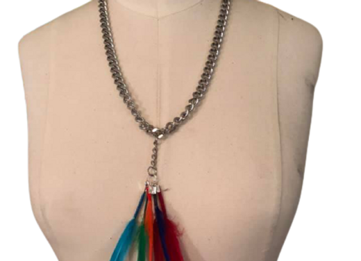 Feather Made Chain necklace