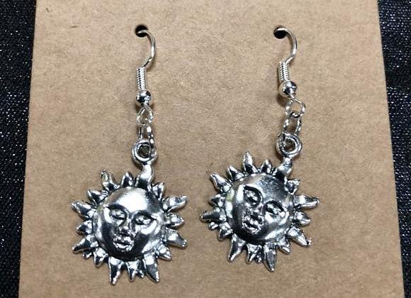 Sunshine Hand-Made Earrings