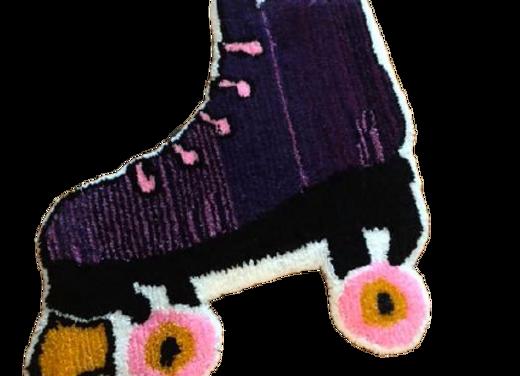 Custom Skate Tufted Rug  2ftX2Ft