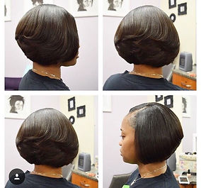Partial Install with Bob Cut