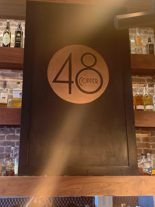 Copper 48 Logo Painted