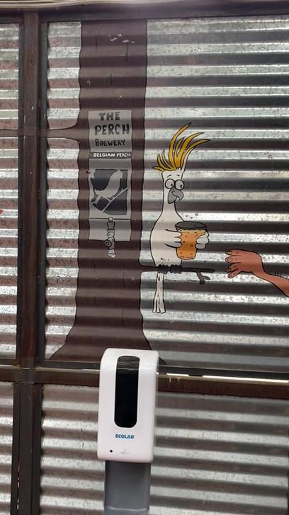 The Perch Mural