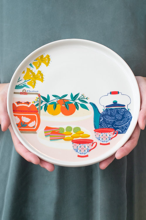 Yenidraws - Ceramic Plate