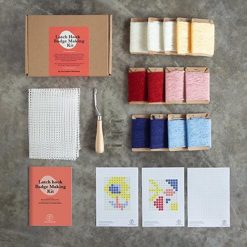 Co:Creation - Latch Hook Badge Making Kit