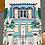 Thumbnail: Yenidraws - My Singapore My Home Tea Towel