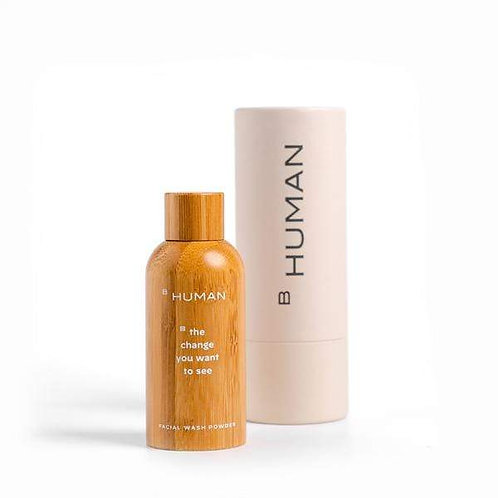Bhuman - Facial Wash Powder (Bamboo Bottle)