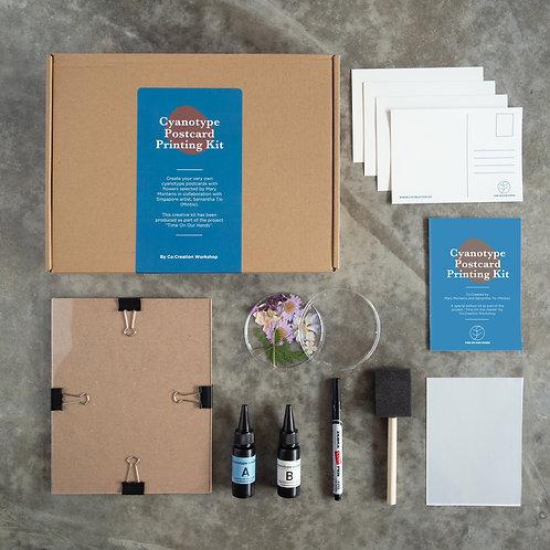 Co:Creation - Cyanotype Postcard Printing Kit
