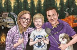 Family Portrait - Digital