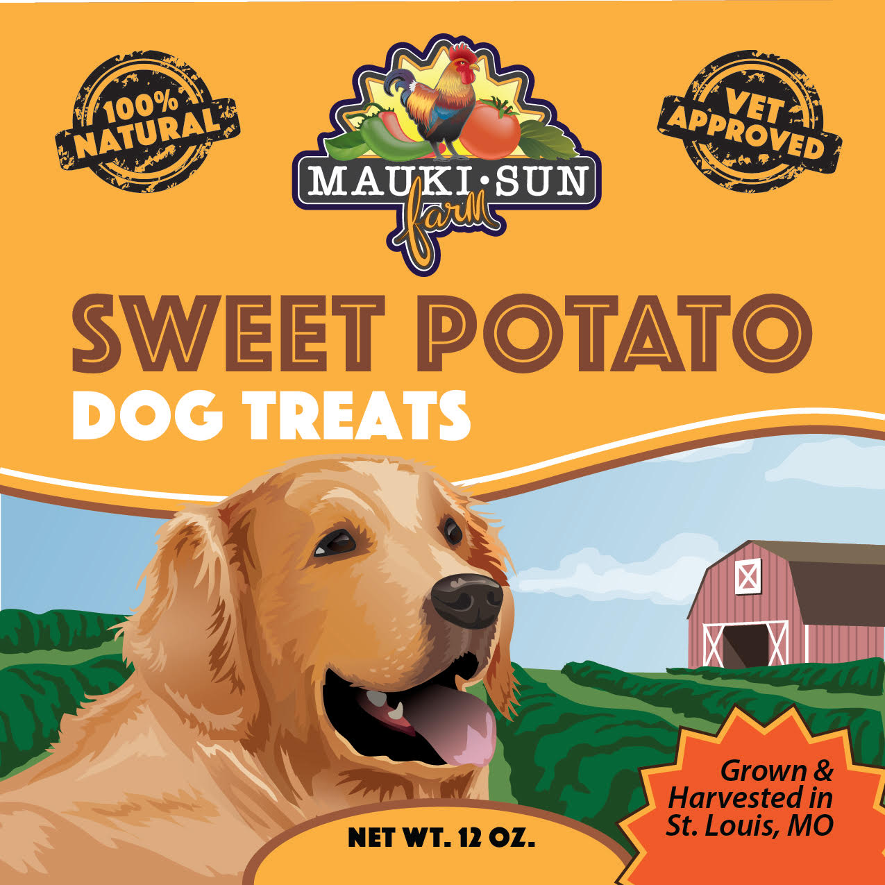 Dog Treat-label